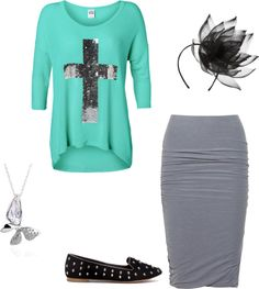 """""""Simple Church Outfit"""" by styling-rebel on Polyvore"""