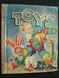 Golden Book Toys 22 Illustrator Masha Simon Schuster 1945 | eBay