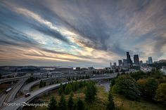 Seattle from the Amazon…com by Thatcher Kelley Photography