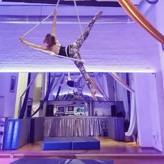 """Agi Ofner on Instagram: """"New combinations of old things I haven't done in ages. Sometimes it's good to let things rest I guess. I never had a transition into the…"""" Aerial Dance, Aerial Hoop, Aerial Arts, Aerial Silks, Circus Aesthetic, Contortion, Gymnastics, My Dream, Old Things"""