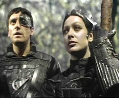 Commander Travis only staffed his crews with mutoids. which trusted more than humans. Kids Party Songs, Best Sci Fi Series, Avant Garde Film, Episodes Series, Den Of Geek, Sci Fi Tv Shows, Fantasy Tv, Classic Sci Fi, Sci Fi Movies