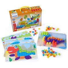 Joc mozaic 90 – Miniland Cube, Montessori, Products, Learning Games, Mosaics, The Originals, Toys, Creativity, Gadget