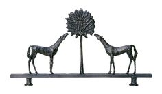 Buy Giacometti Inspired Horse Sculpture by Carole Gratale - Made-to-Order designer Sculpture from Dering Hall's collection of Art Deco Accessories.