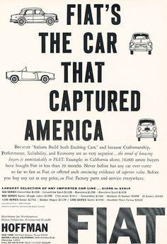 Vintage Fiat Ad