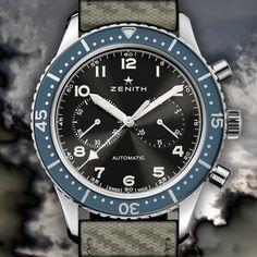 Watch What-If: Zenith Revival Cronometro Tipo CP-2 by Designer Niklas Bergenstjerna