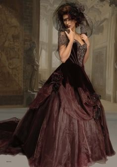 7f7ce467dd Wine color.midevil dream-wedding Formal Gowns