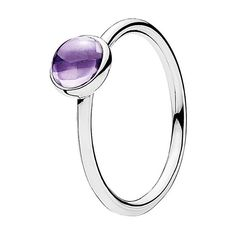 Pandora Silver Cz Poetic Droplet Ring (£14) ❤ liked on Polyvore featuring jewelry, rings, jewelry & watches, nocolor, cz rings, cubic zirconia jewelry, silver jewellery, pandora jewellery and silver rings