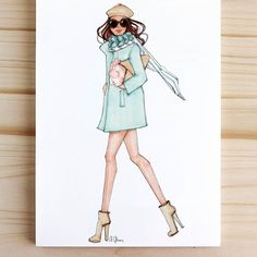 """Happiness is homemade"" ⛵ Fashion Design Books, Fashion Design Sketches, Fashion Art, Girl Fashion, Fashion Outfits, Fashion Illustration Sketches, Illustration Mode, Dress Sketches, Fashion Figures"
