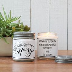 Virginia scented candle homesick gift miss home gift state hello spring soy candle gift easter scented candle spring scented candle happy easter gift easter basket personalized easter gift negle Gallery