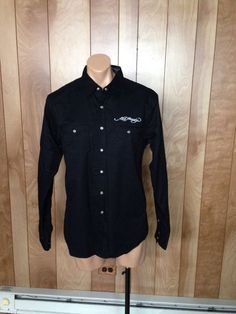 MEN'S ED HARDY BUTTON-DOWN SHIRT-SIZE: LARGE #EDHARDY #ButtonFront