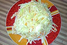 German recipe for cole slaw