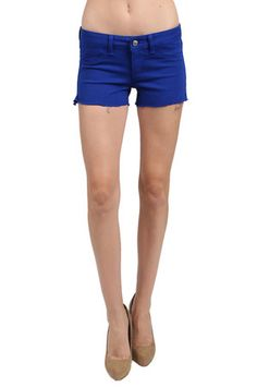 The Solid Short in Blue by Sold Design Lab from MFredric.com