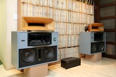 ALTEC A7 for 806 woofer in case 9844a, equipped with a horn 811B CARMEL TAD speakers and agents, Wood Horn