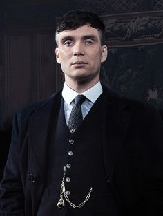 'The things I do, I do for my family' — Series 3 portrait by photographer Robert Viglasky, original provided by Peaky Blinders