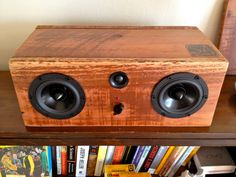 Wireless Bluetooth Reclaimed Wood Speakers || Handmade From Salvaged Redwood…