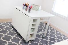 Can I DIY this? Martha Stewart Collapsable Craft Tavle