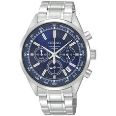 Seiko Men Watch SSB039P1 Chronograph