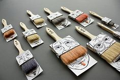 Sofia Erixson – Packaging with humor. Love the hairpieces. Genious.