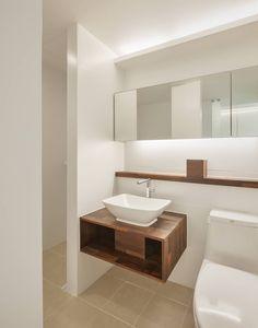 신당동 아파트 인테리어: 서가 건축사사무소의  화장실