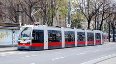 New tram in Vienna – long version Corporate Identity Design, U Bahn, Light Rail, Fashion Show Collection, Public Transport, Vienna, I Movie, Transportation, Landscapes