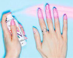 Trend Alert: Spray-On Nail Polish
