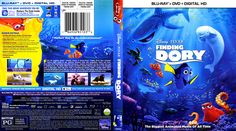 Finding Dory Blu-ray Scanned Cover
