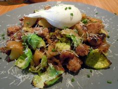 Sausage Hash at Toast in Portland.