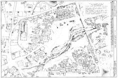 Map of Taos Pueblo, New Mexico, 1973, Historic American Buildings Survey