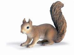 Schleich Squirrel at theBIGzoo.com