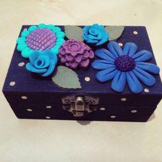 Clay flower box #gioiedifimo