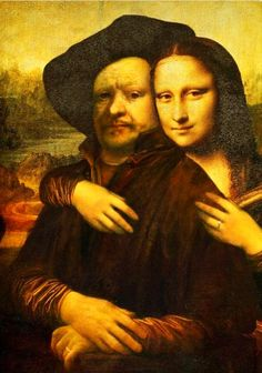 Mona Lisa, Rembrandt & I