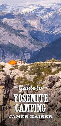 Your complete guide to #Yosemite #camping, including the best #campgrounds in Yosemite National Park.