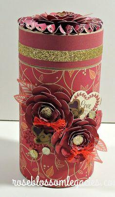 Rose Blossom Blog Hop - Sangria