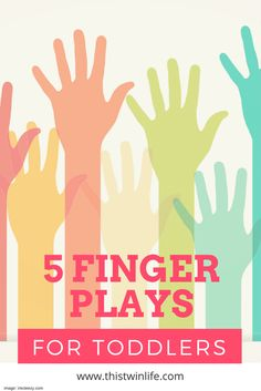 Finger plays are songs like itsy bisty spider... but check out this post from @thistwinlife for more ideas!