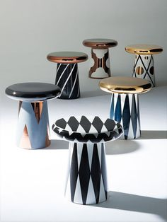 furniture design jaime hayon designs ceramic table and sculptures for bosa Italian Furniture, New Furniture, Table Furniture, Luxury Furniture, Painted Furniture, Furniture Design, Classic Furniture, Furniture Stores, Bathroom Furniture