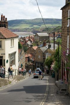 Robin Hoods Bay, North Yorkshire  Find your dream UK travel and tourism job: http://www.traveljobsearch.com/uk