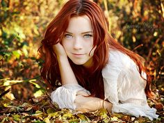 Autumn's blue eyes by leelloor.deviantart.com on @deviantART