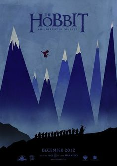 The Hobbit: An Unexpected Journey (24 Unofficial Movie Posters That Are Better Than The Real Posters)