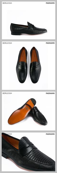 3aefbab8c8d7d Magnanni black penny loafer  A casual yet up-scaled penny loafers are a  faultless