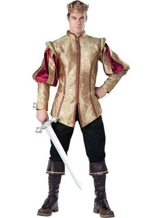 Joffrey - Adult Renaissance Prince Costume - Party City
