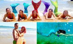 mermaid academy in Tarragon, Spain
