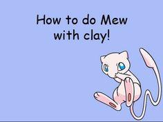 Pokémon Mew Tutorial Polymer clay / Porcelana fria