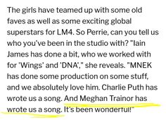 guys !! m*ghan might have just wrote them a song, so she might not actually be singing