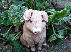 Alrighty then...I've been wanting a pig for the front flower bed...