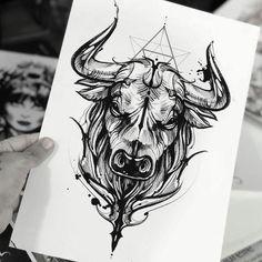 Tattoos And Body Art tattoo convention Taurus Bull Tattoos, Bull Skull Tattoos, Zodiac Tattoos, Head Tattoos, Forearm Tattoos, Animal Tattoos, Body Art Tattoos, Sleeve Tattoos, Horoscope Tattoos