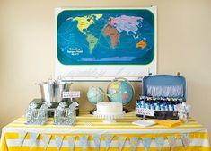 vintage_airplane_birthday_party_dessert_table