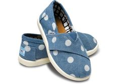 Tiny TOMS. I can't wait to dress our tiny sweetheart up in these cute little things (: