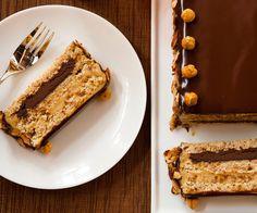 Hazelnut-Almond Dacquoise recipe