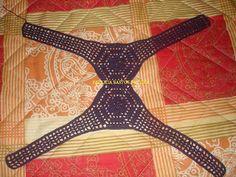 Mrs. Patricia Crochet: Ribana (ou camiseta) customizada com square de crochê - dicas