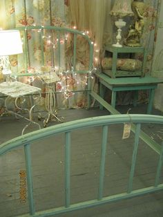 This Celadon Green Is One Of The Most Popular Colors Used On Iron Beds Back In